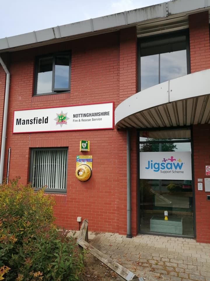 Mansfield Fire Station and Jigsaw